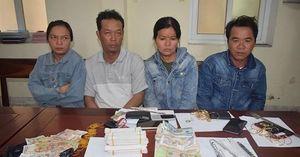 Hà Tĩnh: Bắt 4 đối tượng chuyên trộm cắp tiền công đức