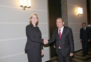Phó Thủ tướng Thường trực hội kiến Phó Chủ tịch thứ nhất Quốc hội Phần Lan