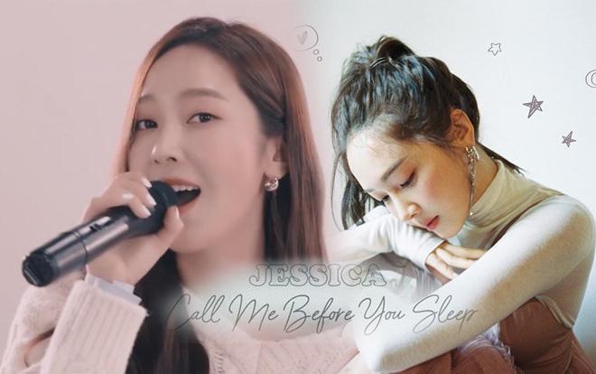 Tạm rũ bỏ hình tượng 'công chúa băng giá', Jessica giản dị và ngọt ngào trong lần trở lại với 'Call Me Before You Sleep'