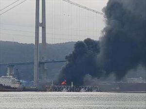 Số thương vong tăng gấp đôi trong vụ nổ tàu chở dầu tại Hàn Quốc