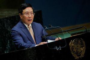 Phó thủ tướng Phạm Bình Minh đưa vấn đề Biển Đông ra Đại hội đồng LHQ