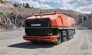 'Soi' xe tải hạng nặng tự lái Scania AXL hoàn toàn mới