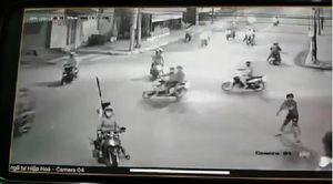 Đã bắt được đối tượng trực tiếp cầm hung khí uy hiếp, chém xe dân phòng