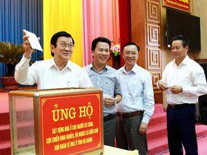 Hà Giang phát động xây dựng 2.000 ngôi nhà cho các hộ nghèo, chính sách