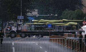 Trung Quốc chuẩn bị duyệt binh Quốc khánh, bọc kín hàng loạt vũ khí bí mật
