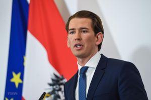 Bầu cử sớm tại Áo: Đảng ÖVP của cựu Thủ tướng Sebastian Kurz dẫn đầu