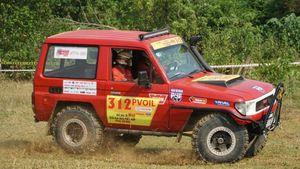 Xe Trung Quốc vô địch Hạng nâng cao giải đua xe địa hình Việt Nam?