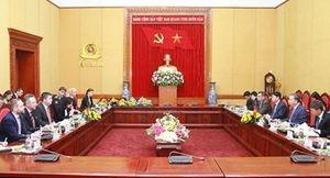 Việt Nam - Cộng hòa Czech tăng cường hợp tác đấu tranh phòng, chống các loại tội phạm