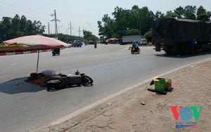 Va chạm với xe đầu kéo: Một người tử vong, bé trai 3 tuổi thoát nạn