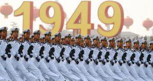 Cận cảnh lễ duyệt binh hoành tráng và loạt khí tài hùng hậu của Trung Quốc
