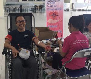 Viện Huyết học phối hợp Diana Unicharm tổ chức hiến máu nhân đạo