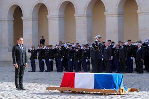 Nước Pháp tổ chức quốc tang cựu Tổng thống Jacques Chirac