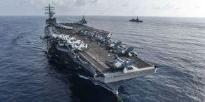Hải quân Mỹ thay chỉ huy nhóm tàu chiến lớn nhất trên tàu sân bay ở Biển Đông