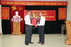 Tuyên Quang: Bí thư Huyện ủy Lâm Bình Nguyễn Hồng Trang được điều động, bổ nhiệm giữ chức Phó Trưởng Ban Tổ chức Tỉnh ủy