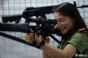 Cận cảnh dàn vũ khí tối tân tại triển lãm Quốc phòng - An ninh ở Hà Nội