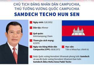 Chân dung Thủ tướng Vương quốc Campuchia Samdech Techo Hun Sen sắp thăm Việt Nam