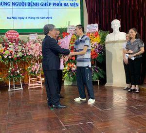 Bệnh nhân ghép phổi ở Bệnh viện Việt Đức xuất viện