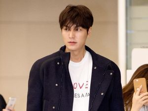 Khác lúc vừa xuất ngũ, Lee Min Ho diện toàn đồ hiệu tại sân bay