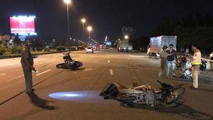 Tai nạn liên hoàn giữa 3 xe máy trên QL1, người đàn ông tử vong tại chỗ