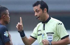 Trọng tài người Iran cầm còi trận tuyển Việt Nam gặp Malaysia