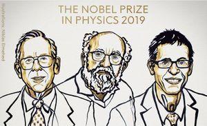 Giải Nobel Vật lý 2019 cho hai nghiên cứu về vũ trụ