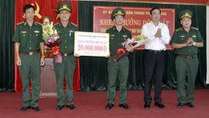 Biểu dương thành tích xuất sắc của Đoàn đặc nhiệm phòng chống ma túy và tội phạm