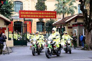 Phân luồng giao thông Hà Nội phục vụ trận Việt Nam - Malaysia