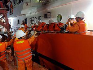 Thuyền viên tàu cá bị dây cáp cuốn khiến 2 chân đứt lìa