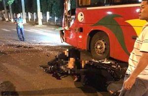 Một chiến sĩ nghĩa vụ Công an tử vong sau cú va chạm với xe khách