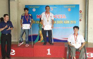 Giải vô địch các môn thể thao người khuyết tật toàn quốc: Đồng Nai giành thêm 2 HCV, 1 HCB, 1 HCĐ môn boccia