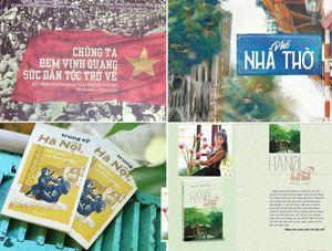 Những cuốn sách hay về Hà Nội ra mắt dịp Giải phóng Thủ đô
