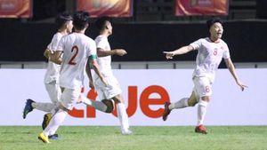 U19 Việt Nam đánh bại Thái Lan ngay tại Bangkok