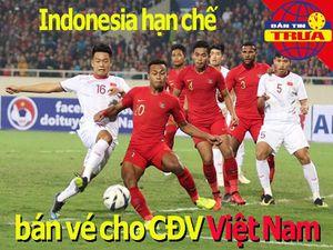 Indonesia hạn chế vé bán cho CĐV Việt Nam, HA Gia Lai thua đậm
