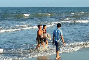 Cô gái 21 tuổi thiệt mạng khi tắm biển ở Quảng Trị