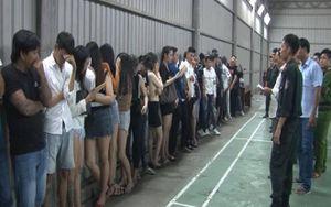Phát hiện 31 người đang 'mở tiệc' ma túy tại quán bar ở Kiên Giang