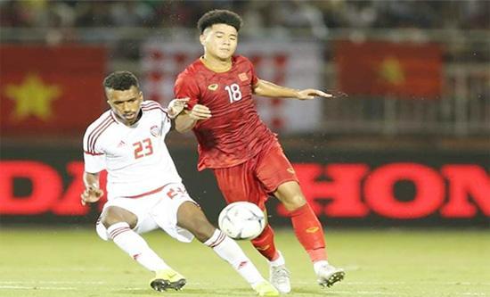 Hà Đức Chinh ghi bàn, U22 Việt Nam cầm hòa U22 UAE