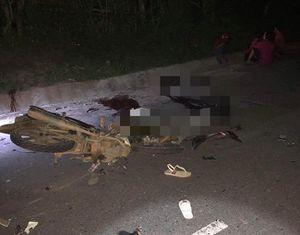 Quảng Trị: Tai nạn xe máy kinh hoàng, 4 người tử vong tại chỗ, 2 người bị thương