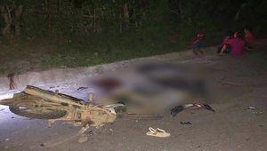 Tai nạn giao thông nghiêm trọng lúc nửa đêm làm 4 người chết, 2 người bị thương