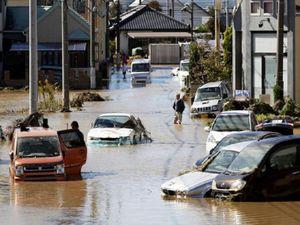 Giải cứu 9 người Việt mắc kẹt vì siêu bão Hagibis
