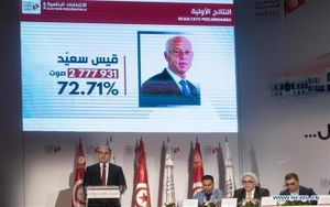 Giáo sư luật giành chiến thắng trong cuộc bầu cử Tổng thống Tunisia