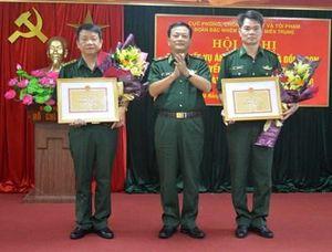Bộ đội Biên phòng trao thưởng cán bộ có thành tích phá chuyên án ma túy lớn