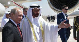 'Choáng' trước màn đón tiếp hoành tráng của UAE dành cho Tổng thống Putin