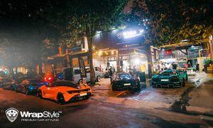 Dàn siêu xe trăm tỷ của dân chơi Việt offline tại Sài Gòn