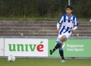 Đoàn Văn Hậu có pha kiến tạo đầu tiên trong màu áo SC Heerenveen
