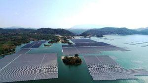 Đề xuất phát điện mặt trời trên các hồ thủy lợi
