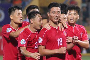Đội bóng Triều Tiên chơi trận chung kết AFC Cup tại Malaysia