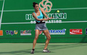 Tay vợt Việt kiều Pháp Kim Chi Alize Lim thống trị quần vợt nữ Việt Nam