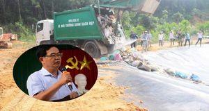 Sau 3 tháng bị dân ngăn cản, bãi rác lớn nhất Quảng Nam hoạt động trở lại