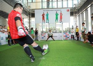 Đấu trường Penalty Bundesliga lần đầu tiên được tổ chức tại Việt Nam