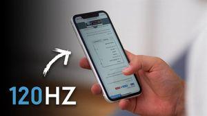 iPhone 2020 sẽ có màn hình 'ProMotion' tốc độ làm tươi 120Hz